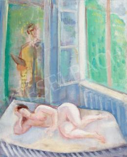 Márffy Ödön - Akt műteremben, 1930 körül