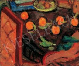 Czóbel Béla - Csendélet narancsokkal, 1920-as évek