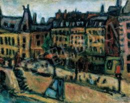 Czóbel Béla - Párizsi Szajna-part, 1925
