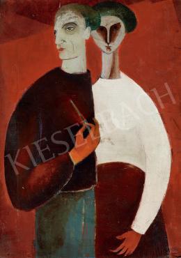 Vajda Júlia - Kettős portré, 1942