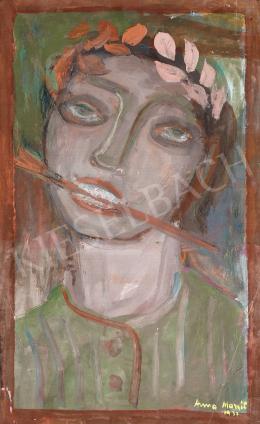 Anna Margit - Önarckép, 1940 körül