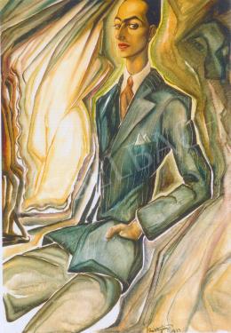 Batthyány Gyula - Marich Jenő portréja (1933)
