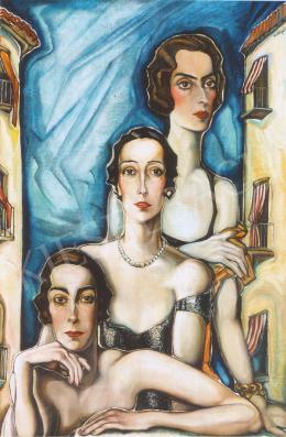 Batthyány Gyula - Három hölgy (1934 körül)
