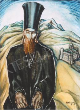 Batthyány Gyula - Bolgár szerzetes (1933 körül)