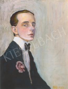 Batthyány Gyula - Önarckép (1910)