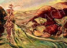 Batthyány Gyula - Vörös tájkép (Királyhágó) (1937)