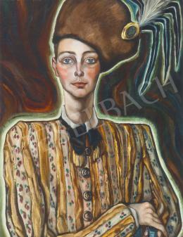 Batthyány Gyula - Batthyány Bálint, a festő fia (1934 körül)