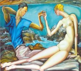Batthyány Gyula - Dubrovniki szeretők (1930 körül)