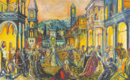 Batthyány Gyula - Firenzei este (1927)