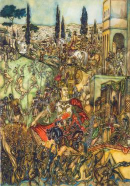 Batthyány Gyula - A római birodalom (1940 után)