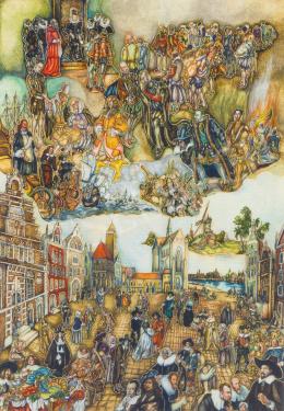 Batthyány Gyula - Hollandia történelme (1940 után)