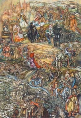 Batthyány Gyula - Történelmi kompozíció (1940 után)