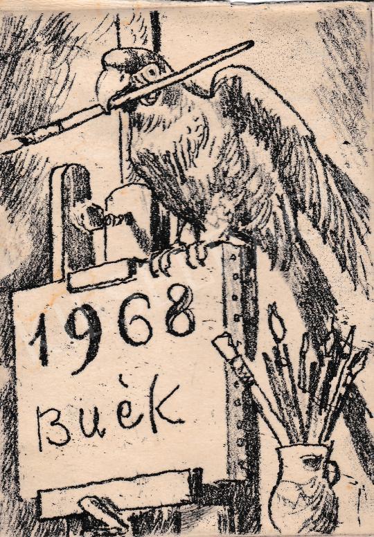 Eladó Biai-Föglein István - BUÉK! festménye