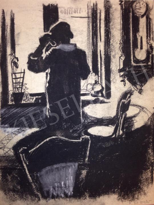 For sale Schubert, Ernő - Woman by Window 's painting