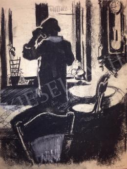 Schubert Ernő - Nő ablaknál