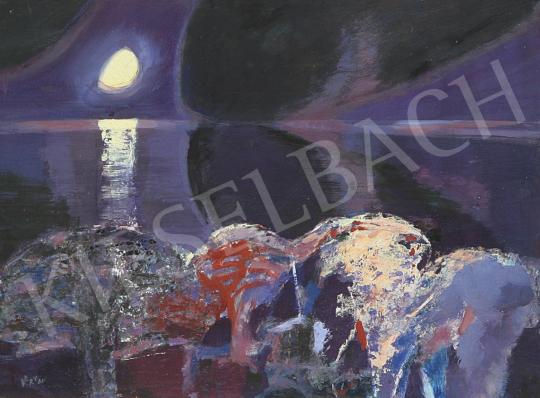 For sale Balogh, Ervin - Silver Bridge 's painting