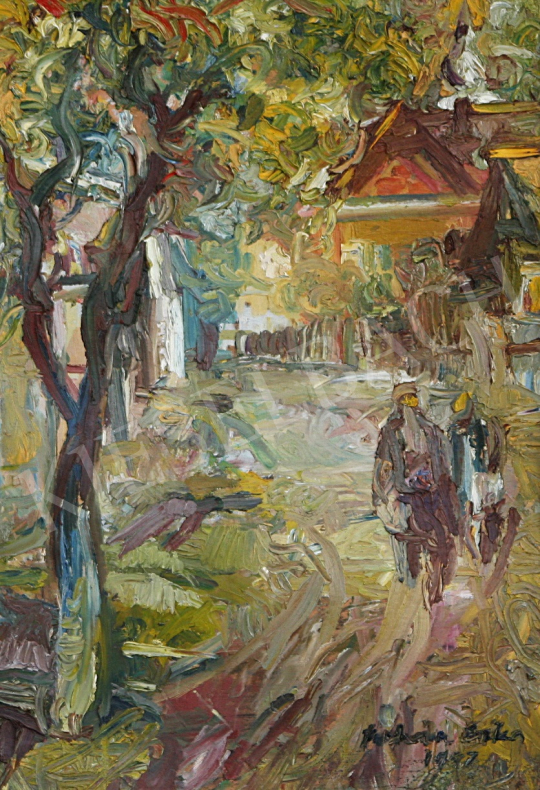 For sale Juhász, Erika - Street of Zsobok 's painting