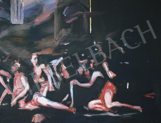 Eladó Pálfi Balázs - Viráglányok festménye