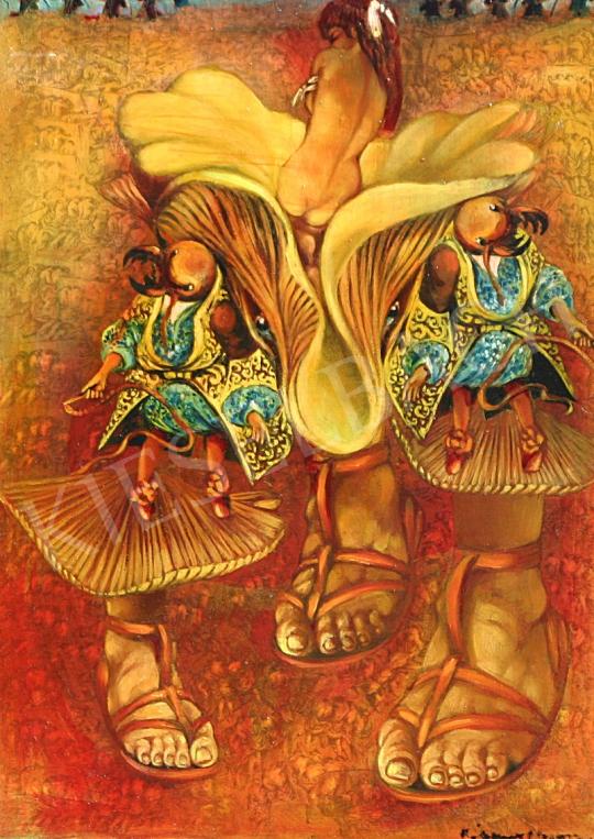 For sale Rádóczy Gyarmathy, Gábor (Gyarmathy Gábor) - Ant-Hill 's painting