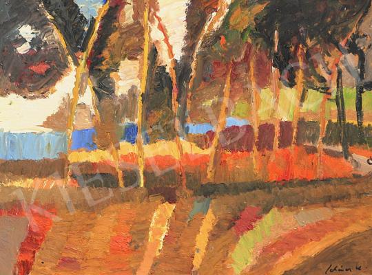 Eladó Schéner Mihály - Toscanai táj festménye