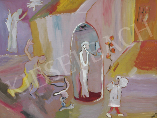 For sale  Szabadi, Katalin - Adam and Eve 's painting