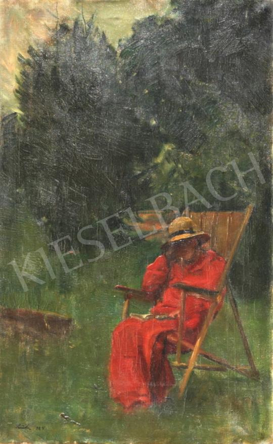 Eladó Szüle Péter - Cím nélkül festménye