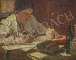 Szüle, Péter - Writing Woman