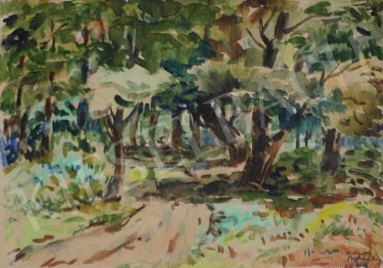 Eladó Komjáti-Wanyerka Gyula - Erdei út festménye