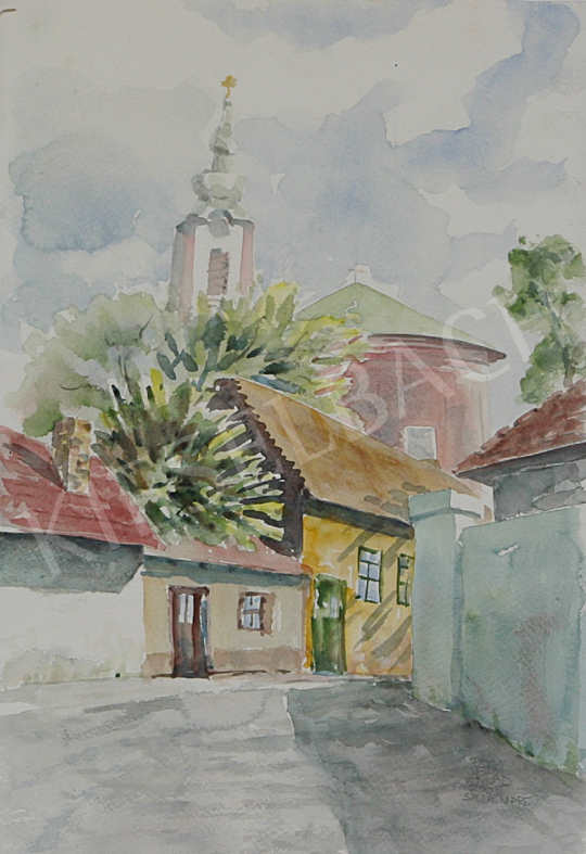 For sale  Patyi, Árpád - Peter and Paul Church 's painting