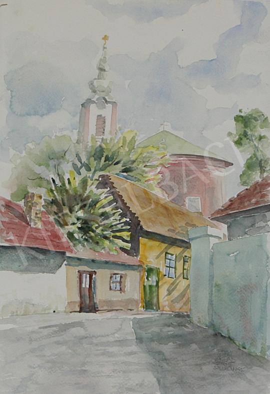 Eladó  Patyi Árpád - Péter-Pál templom festménye