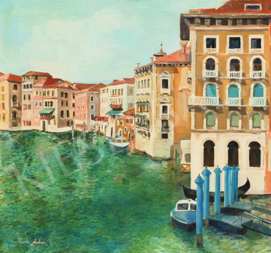 For sale  Riczkó, Andrea - Venice 's painting