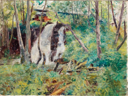 Herman, Lipót - Waterfall in the Forest, 1938