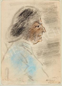 Vaszary János - Női portré, 1929