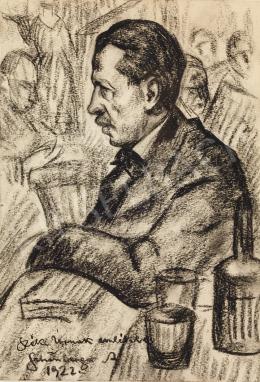 Schönberger Armand - Férfi portré, 1922