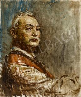 Márk Lajos - Férfi portré