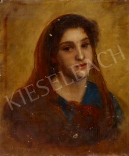 Szikszay Ferenc - Női portré