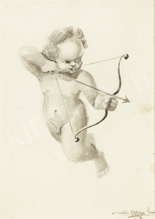 For sale  Hiripi, Gyula - Amor 's painting