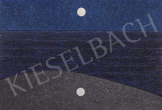 Eladó Orvos András - Hold tükröződése festménye