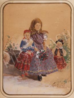 Kézdi-Kovács, László - Daughter of Torontul Erzsébet, 1892