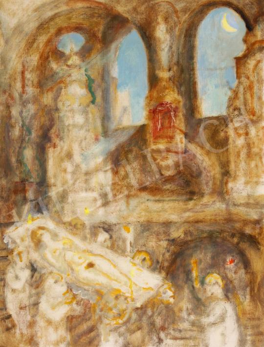 Eladó  Szabó Vladimir - Különös szertartás festménye