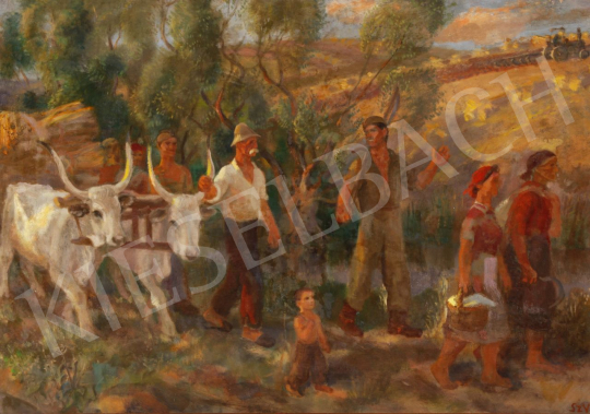 For sale  Szabó, Vladimir - Harvest 's painting