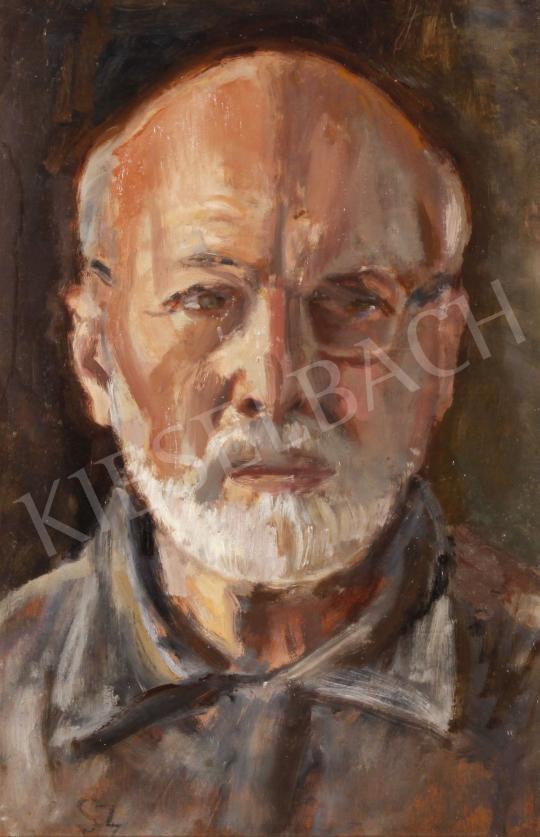 Eladó  Szabó Vladimir - Önarckép festménye