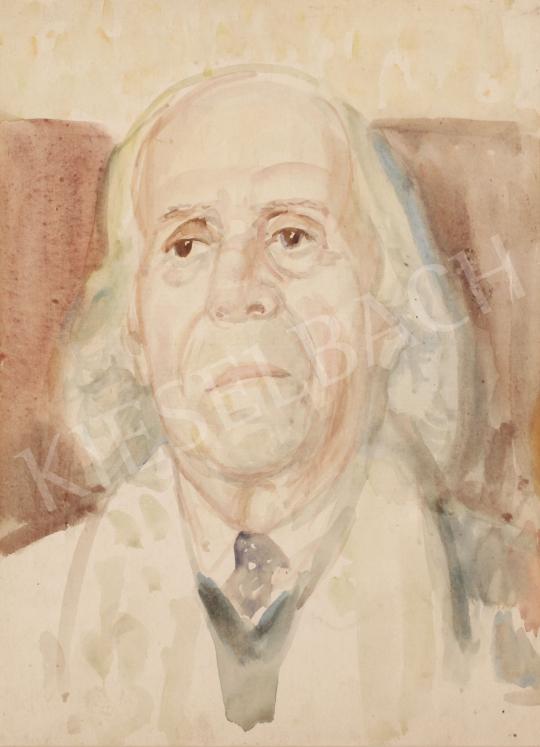 Eladó  Szabó Vladimir - Egy barát portréja festménye