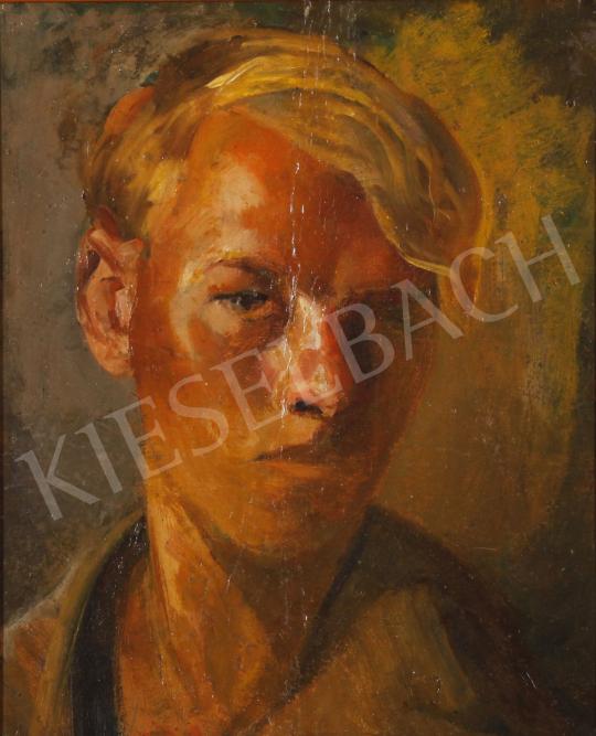 Eladó  Szabó Vladimir - Fiú portréja festménye