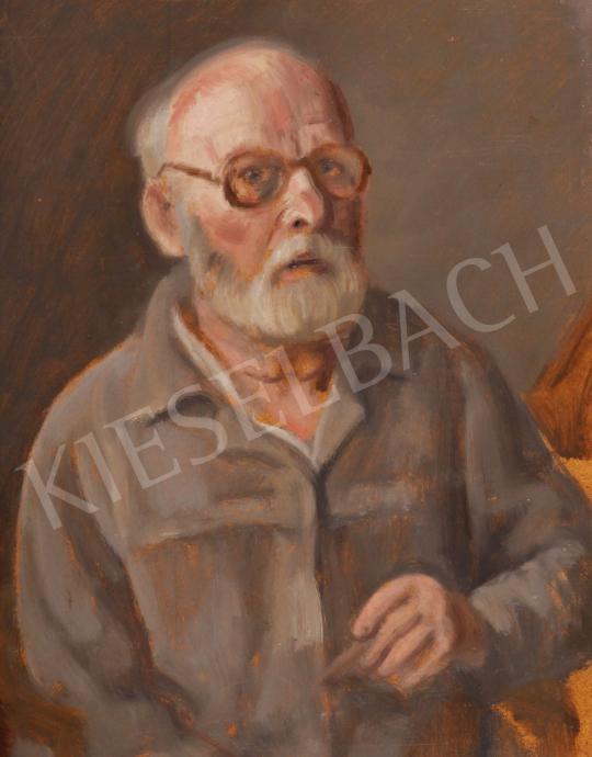 Eladó  Szabó Vladimir - Önarckép, 1975-80 festménye