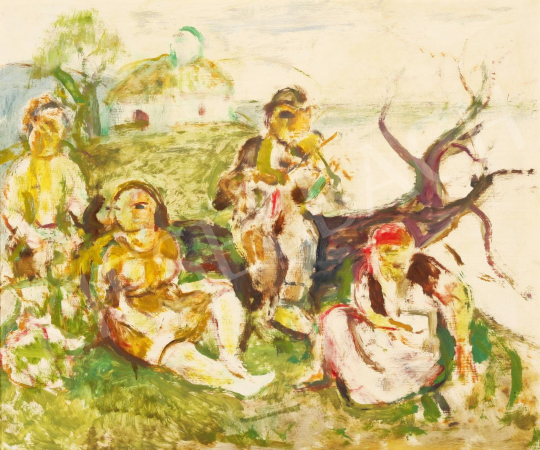 Eladó  Szabó Vladimir - Életművészek festménye