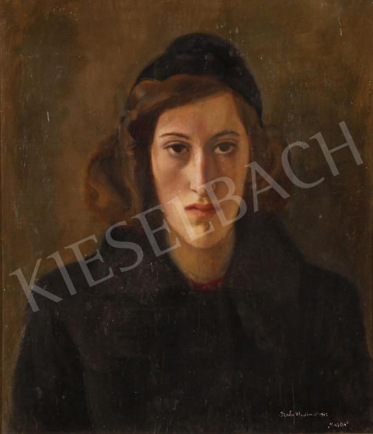 Eladó  Szabó Vladimir - Magda (női portré), 1942 festménye