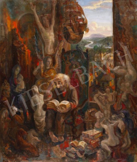 Eladó  Szabó Vladimir - A gyűjtő, 1978 festménye