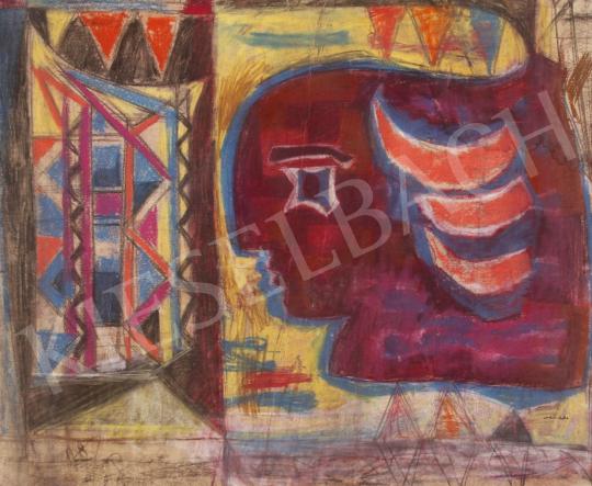 Hincz Gyula - Álmodozás festménye