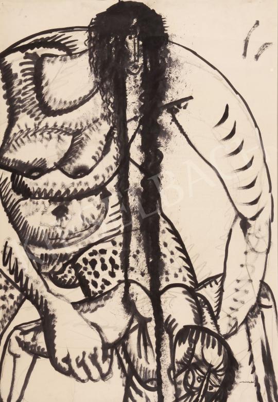 Hincz Gyula - Alakok festménye